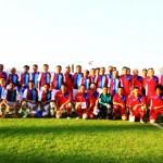 การแข่งขันฟุตบอลนัดกระชับมิตร ในงานกระชับมิตรความสัมพันธ์ กับคณะรัฐมนตรี