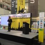 ภาพบรรยกาศ งาน SAFE in the City 2013 ยกระดับความปลอดภัยกับการรวบรวมสุดยอด