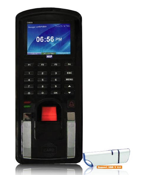 fingerpint ci809 access control system เครื่องสแกนลายนิ้วมือ